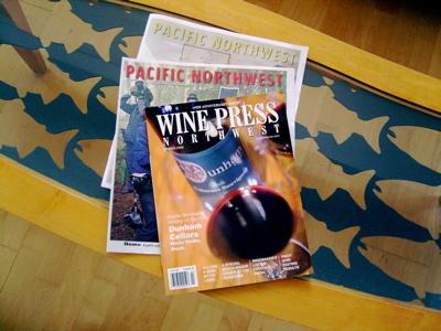 Braiden writes for Pacific Northwest and Wine Press Northwest.