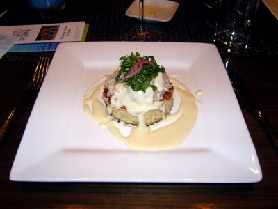 Executive Chef Craig Hetherington offered his take on a tuna melt at a  recent Sunday Supper at TASTE.
