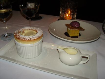 The Grand Marnier Souffle at Canlis remains a classic.