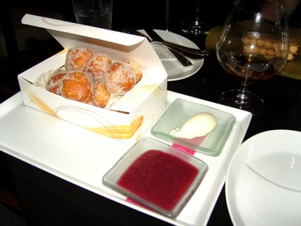 Pastry chef Ryan Witcher pumps out a mean box \'o donuts at ART Restaurant and Lounge.