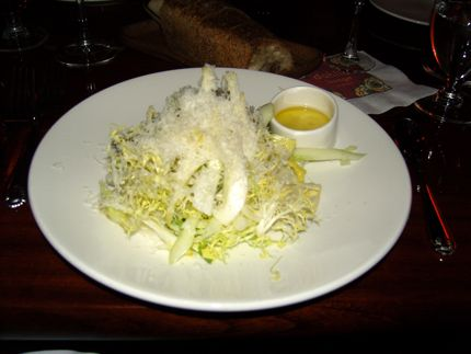This Fennel Salad is part of the Dahlia Lounge\'s 30 for $30 promotion.