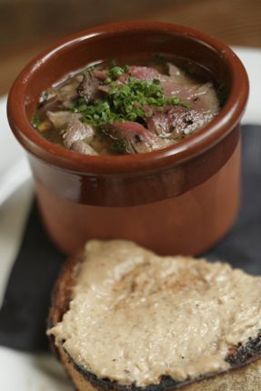 John Gorham, chef of Toro Bravo in Portland, took top honors for his Elk Soup at the Nicky USA Eighth Annual Wild About Game cook-off.