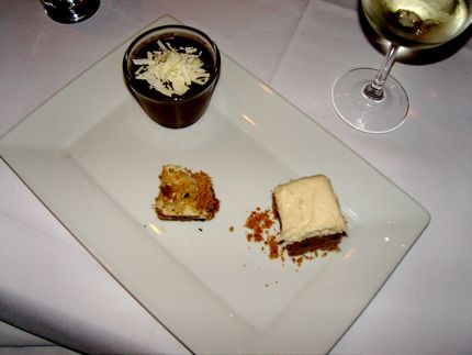 The Eva Trio dessert, served during 30 for $30 in November 2008, was truly a treat.