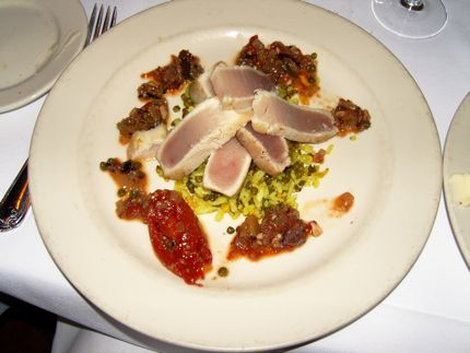 The Albacore Tuna at Eva was outstanding during the November 2008 30 for $30 promotion.