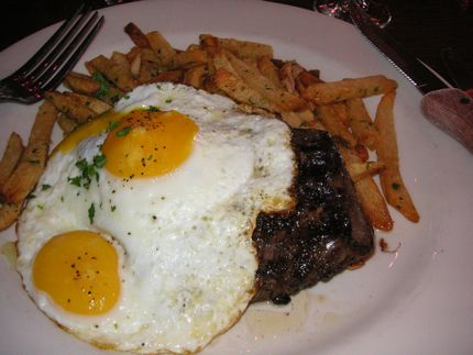 Ooh-la-la. Maximilien in the Market\'s Steak Frites is a classic interpretation.