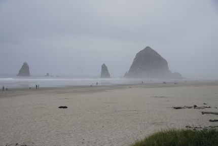Cannon Beach, Oregon, offers romantic beach walks and fine dining at The Stephanie Inn.