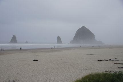Cannon Beach, Oregon, offers romantic beach walks and fine dining at The Stephanie Inn.