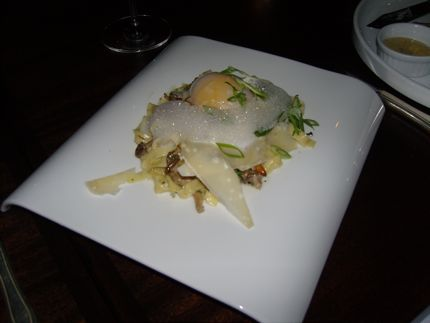 Spur Gastropub\'s Tagliatelle with Duck Egg is the Dish of the Day.