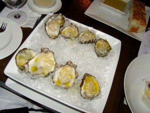 Union\'s Oysters on the Half Shell are among the best in town.