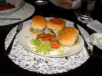 Art Restaurant and Lounge\'s sliders make a tasty treat.
