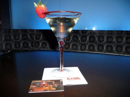 The Spontaneatini is a hot new cocktail at BOKA in downtown Seattle northwest wining and dining website link