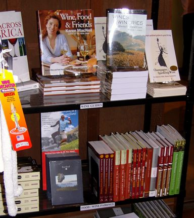 Copies of Pacific Northwest Wining & Dining were prominently displayed at the Culinary Institute of America at Greystone when I was there in late February.
