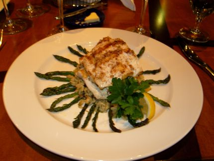 Entrées at Seastar are beautiful and delicious.