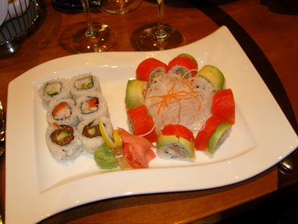 Sushi shines at Seastar.