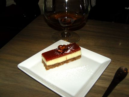 Txori\'s Cheesecake makes a sweet finale to any meal.