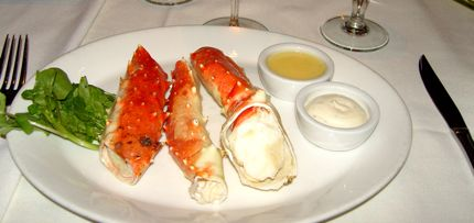 A trio of crab claws from around the world is available in March at Waterfront Seafood Grill.