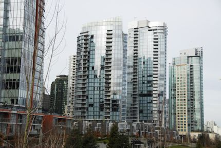 The architecture in Vancouver, BC, is super-modern, yet appealing.