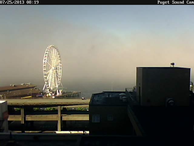 Puget Sound Cam Foggy Morning
