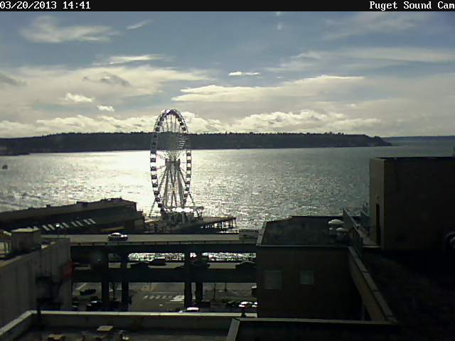 Puget Sound Cam Sparkling Afternoon Photo