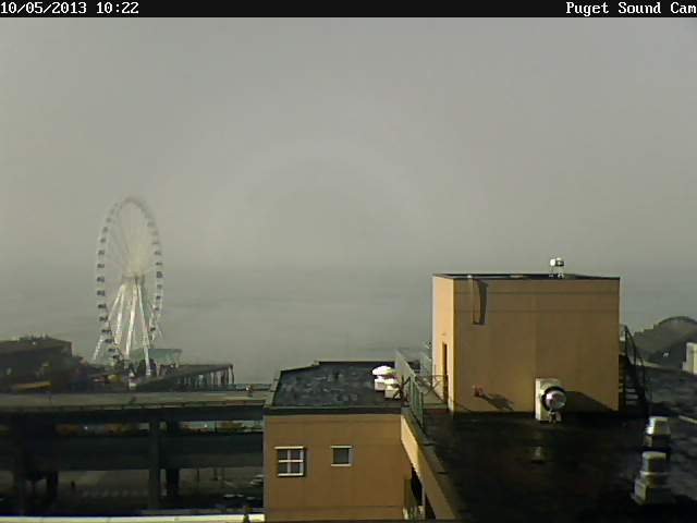 Puget sound cam sunny-foggy skies northwest wining and dining website link