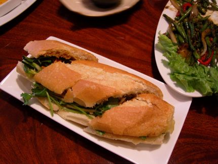 Vietnamese Chicken Sandwich at The Signature