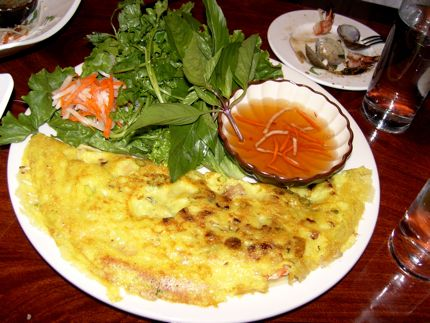 Vietnamese Crepe at The Signatur