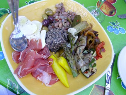 The Pink Door\'s Antipasti Plate