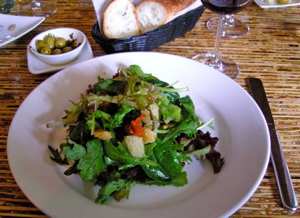 Green Salad at Olivar\'s