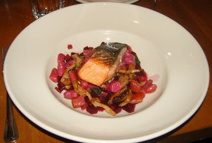 Matt\'s in the Market Salmon and Beets