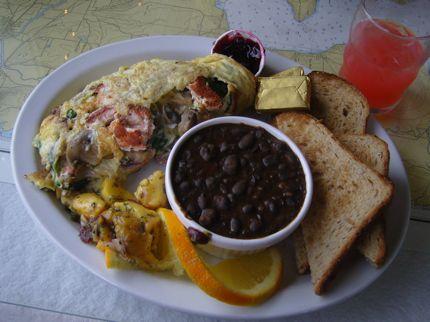 Hudson\'s Omelet in Port Townsend