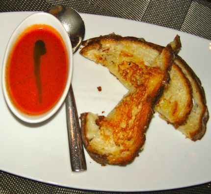 TASTE Tomato Soup and Grilled Cheese Sandwich