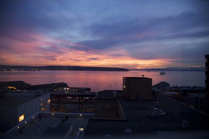 Sunset Over Seattle