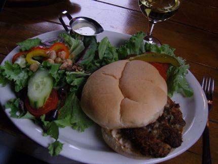 The Warren House Pub Oyster Sandwich