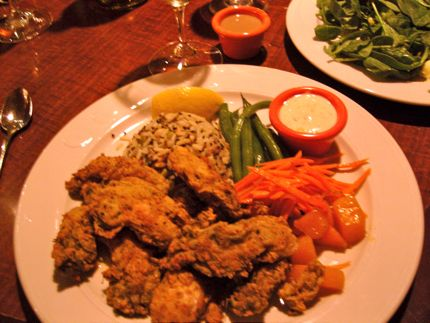 The Wayfarer Restaurant & Lounge Fried Oysters