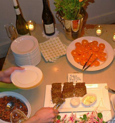 Rosanna\'s Food Spread