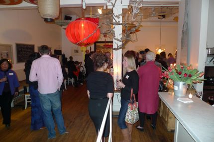 Rosanna\'s Book Launch Crowd