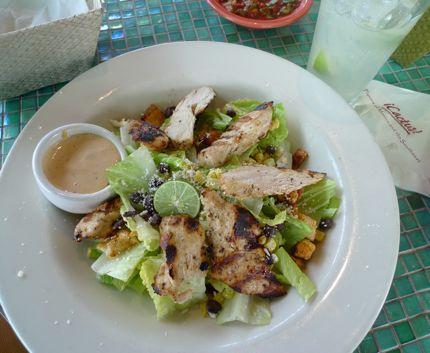 Cactus Chicken Caesar Salad