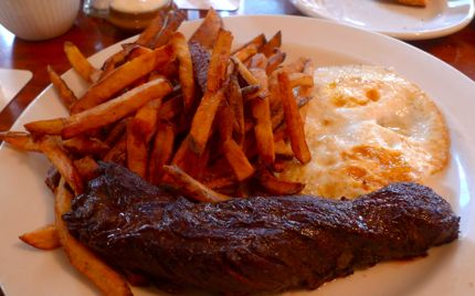 Cafe Campagne Steak Frites