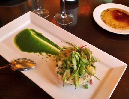 Restaurant Zoe Asparagus Salad