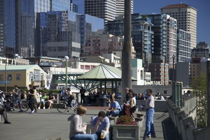 Pike Place Market Scene