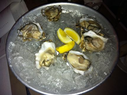 Campagne Bar Oysters on the Half Shell