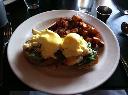 Etta's Seafood Dungeness Crab Benedict