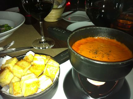 RN74 Tomato Soup Fondue