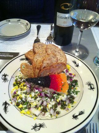 Steelhead Diner Caviar Pie 