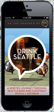 A.J. Rathbun Drink Seattle iphone app