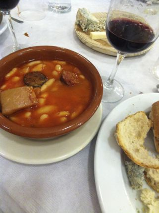 Asturian bean and meat stew