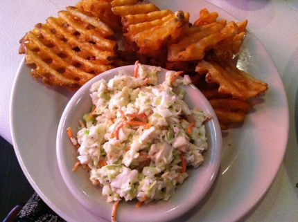 Charleston Crab House Waffle Fries