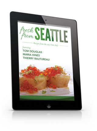 Fresh from seattle ecookbook cover northwest wining and dining