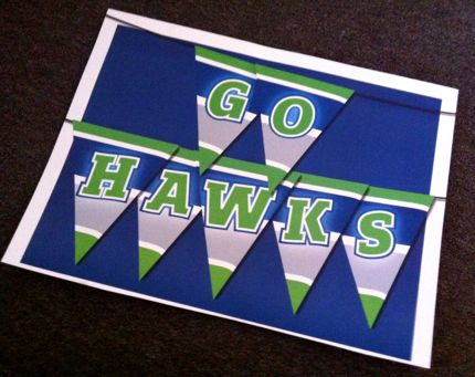 Seahawks banner for superbowl sunday northwest wining and dining downtown seattle website link