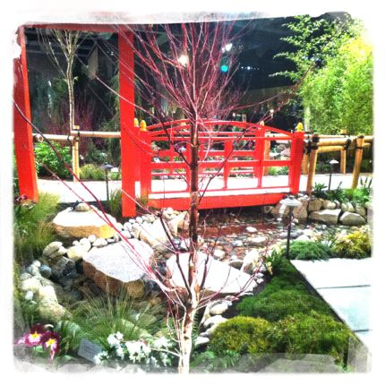 Garden show 2014 red asian bridge northwest wining and dining downtown seattle website link
